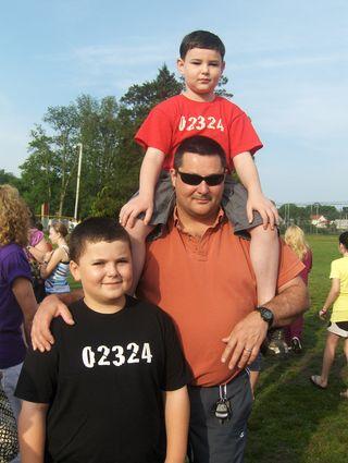 Dad & 2 kids